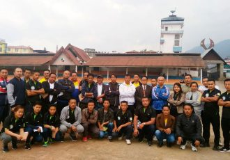 Kohima Town Club organise Football Referee Clinic