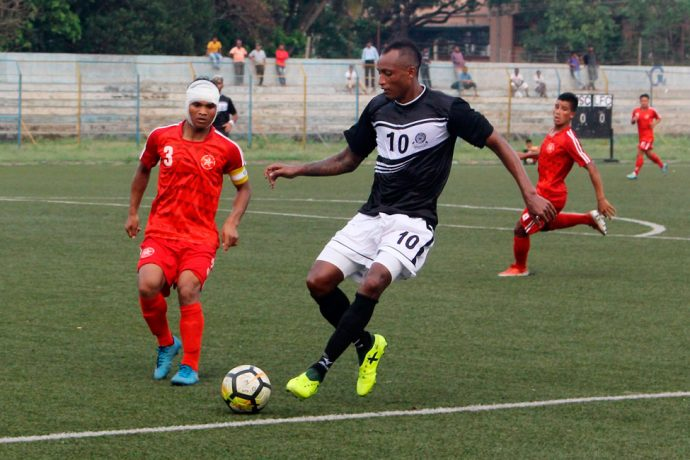 Langsning FC hold Mohammedan Sporting to a goalless draw in the Second Division League. (Photo courtesy: Mohammedan Sporting Club)