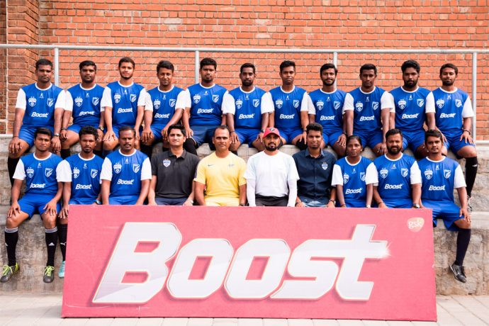 Participants in the AFC 'C' License course conducted by Bengaluru FC and BOOST along with AIFF Technical Director Savio Madeira. (Photo courtesy: Bengaluru FC)