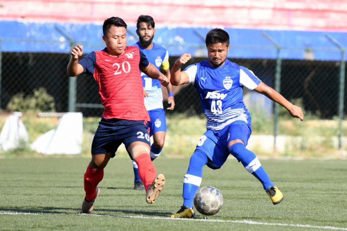 Bengaluru FC 'B' down Chennaiyin FC 'B' for first win in Second Division League (Photo courtesy: Bengaluru FC)