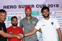 Hero Super Cup pre-match press conference ahead of East Bengal Club vs FC Goa (Photo courtesy: AIFF Media)