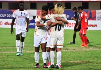 East Bengal score injury-time winner over Aizawl FC (Photo courtesy: AIFF Media)