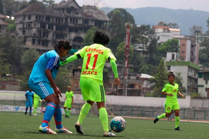 Rising Students Club beat KRYHPSA to enter IWL final (Photo courtesy: AIFF Media)