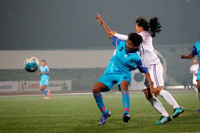 Defending champs Eastern Sporting Union face Rising Students Club in IWL final. (Photo courtesy: AIFF Media)