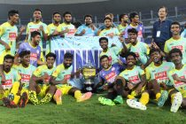 Kerala defeat West Bengal on penalties to win 2018 Santosh Trophy (Photo courtesy: AIFF Media)