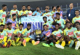 Kerala defeat West Bengal on penalties to win 2018 Santosh Trophy (Photo courtesy: AIFF Media)