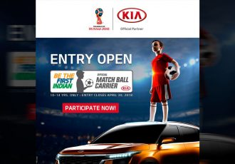 Kia Motors begins search for Indian match ball carriers for 2018 FIFA World Cup (Photo courtesy: Kia Motors)