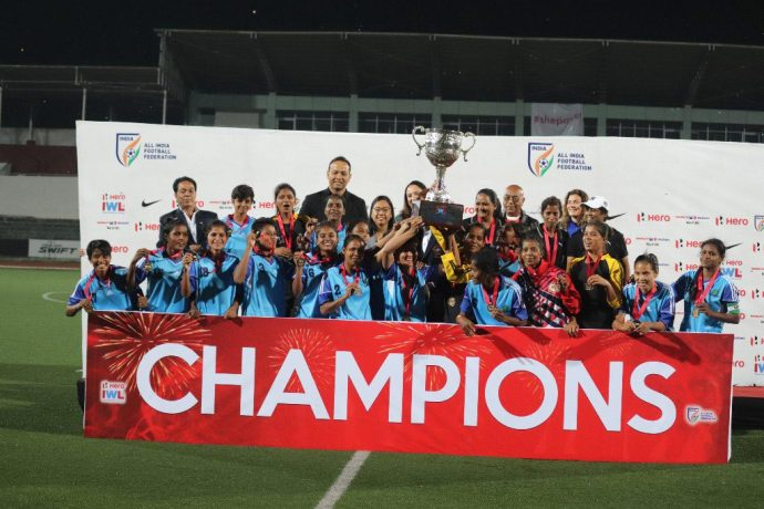 Rising Students Club crowned Champions of 2018 Indian Women's League (Photo courtesy: AIFF Media)