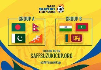 2018 SAFF Cup Groups