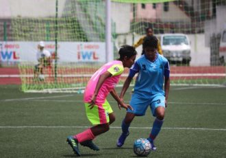 Sethu FC beat Rising Students Club 2-0 to notch up second win in the Indian Women's League (Photo courtesy: AIFF Media)