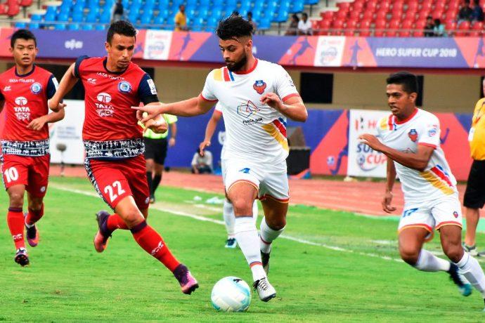 FC Goa storm into Hero Super Cup semis with a 5-1 win against Jamshedpu FC. (Photo courtesy: AIFF Media)