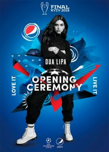 UEFA & Pepsi announce 'New Rules' for UEFA Champions League Final Opening Ceremony (PRNewsfoto/PepsiCo)