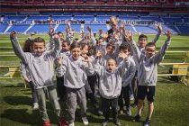 Dreams made possible for Lyon children at UEFA Europa League final (© UEFA)