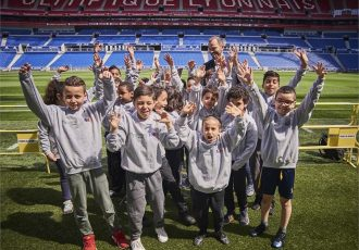 Dreams made possible for Lyon children at UEFA Europa League final (© UEFA)