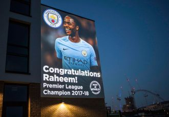 The world lights up for Manchester City's Premier League win (PRNewsfoto/Manchester City)