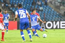 Bengaluru FC star Thongkhosiem Haokip (Photo courtesy: Bengaluru FC)