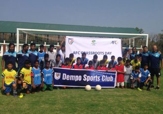 Dempo SC organise Grassroots Festival on AFC Grassroots Day (Photo courtesy: Dempo SC)