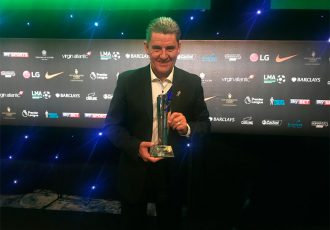 Chennaiyin FC's John Gregory honoured at England's League Managers Association Annual Awards (Photo courtesy: Chennaiyin FC)