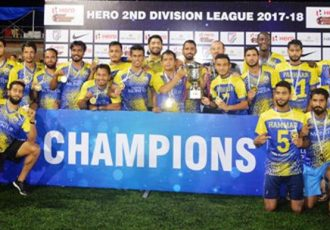 Real Kashmir FC beat Hindustan FC to win Second Division League, qualify for I-League (Photo courtesy: I-League Media)