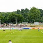 "Die Liga (Women's Bundesliga) match between SGS Essen and 1. FCC Frankfurt at the ""Sportpark am Hallo"" in Essen on May 27, 2018. (© CPD Football)"
