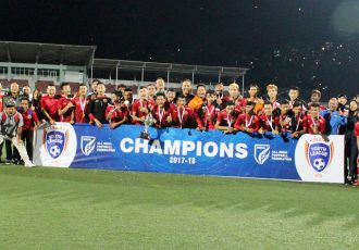 Shillong Lajong FC crowned U-18 Youth League champions. (Photo courtesy: Shillong Lajong FC)