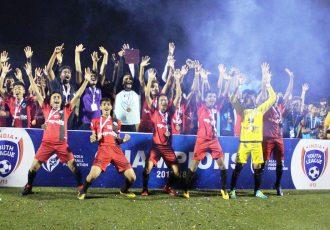 Minerva Punjab FC are the U-13 Youth League champions (Photo courtesy: AIFF Media)