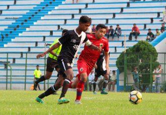 U-13 Youth League action between Mohammedan Sporting Club U-13 and Shillong Lajong U-13. (Photo courtesy: Mohammedan Sporting Club)