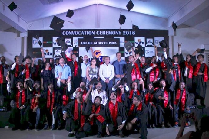 2nd WIFA-Skillination Diploma Course convocation held in Mumbai (Photo courtesy: WIFA)