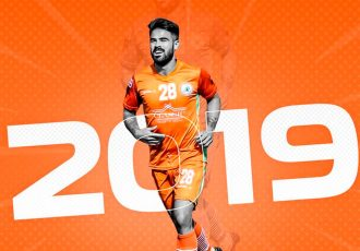 NEROCA FC extend contract of midfielder Aryn Glen Williams (Photo courtesy: NEROCA FC)