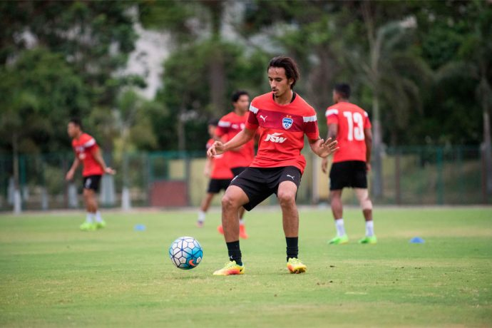 Bengaluru FC defender Gursimrat Singh Gill. (Photo courtesy: Bengaluru FC)