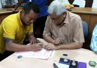 Striker Lalawmpuia joins Pathachakra FC for Calcutta Football League (Photo courtesy: Pathachakra FC)