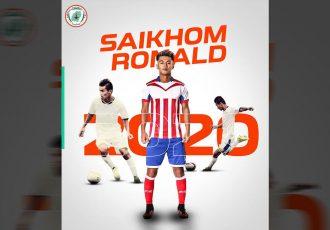 NEROCA FC sign talented midfielder Saikhom Ronald Singh from ATK (Photo courtesy: NEROCA FC)