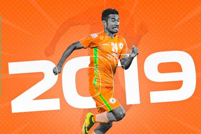 NEROCA FC extend contract of midfielder Thangjam Saran Singh (Photo courtesy: NEROCA FC)