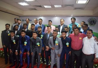 Sesa Football Academy's 2018 convocation held in Goa (Photo courtesy: Sesa Football Academy)