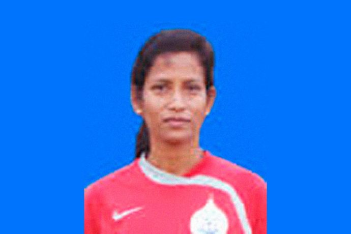 India U-17 Women's national team assistant coach Sradhanjali Samantray. (Photo courtesy: Football Association of Odisha)