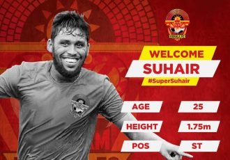I-League side Gokulam Kerala FC sign striker V.P. Suhair (Photo courtesy: Gokulam Kerala FC)
