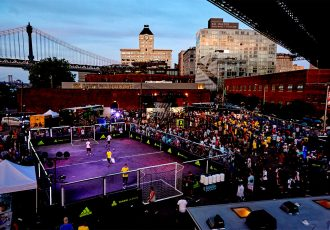 adidas hosts Energy Mode X18 to celebrate Soccer in New York (Photo courtesy: adidas)