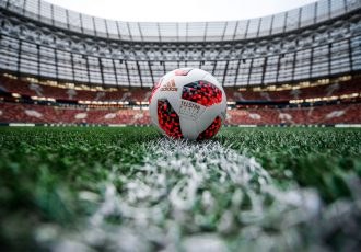 adidas reveals Official Match Ball, the Telstar Mechta, for the Knockout Stage of the 2018 FIFA World Cup. (Photo courtesy: adidas)