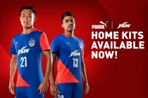 #HeroesWearBlue - Bengaluru FC and PUMA launch new 2018/19 home kit (Photo courtesy: Bengaluru FC)