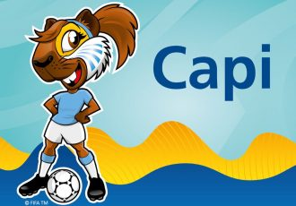 Capi revealed as the Official Mascot of the FIFA U-17 Women's World Cup Uruguay 2018 (© FIFA)