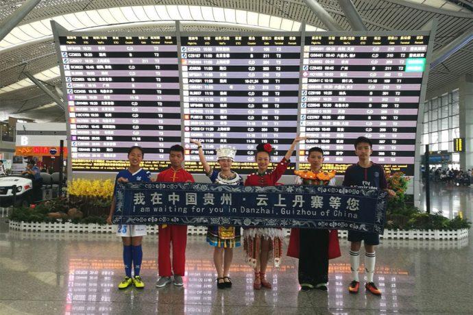 Dalian Wanda celebrates FIFA World Cup moment by bringing underprivileged children to Moscow. (Photo courtesy: Dalian Wanda Group)