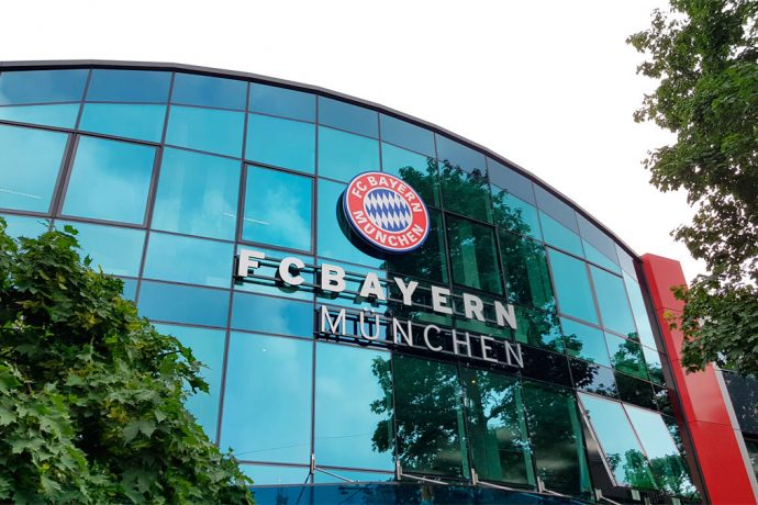 FC Bayern München head office at the Säbener Straße in Munich, Germany. (© CPD Football)