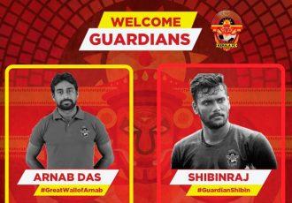Gokulam Kerala FC sign Shibinraj Kunniyil & Arnab Das Sharma (Image courtesy: Gokulam Kerala FC)