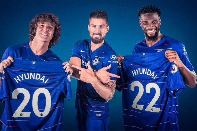 Hyundai Motor becomes Global Automotive Partner of Chelsea FC. (Photo courtesy: Hyundai Motor)