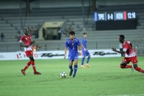 Kenya defeat Chinese Taipei to qualify for Hero Intercontinental Cup final. (Photo courtesy: AIFF Media)