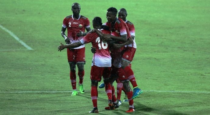 Kenya open Hero Intercontinental Cup account with 2-1 win over New Zealand. (Photo courtesy: AIFF Media)