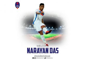 Defender Narayan Das joins Delhi Dynamos FC (Photo courtesy: Delhi Dynamos FC)