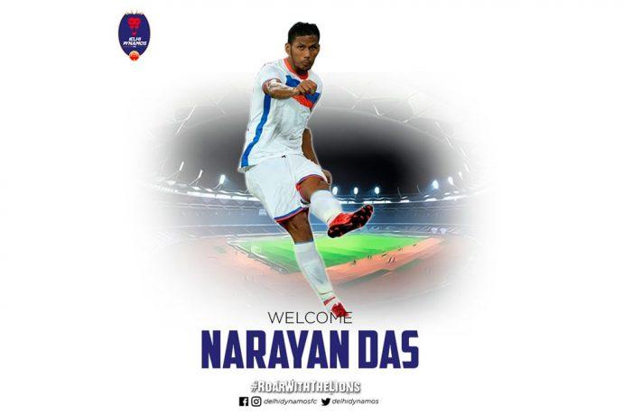 Defender Narayan Das joins Delhi Dynamos FC (Photo courtesy: Delhi Dynamos FC)