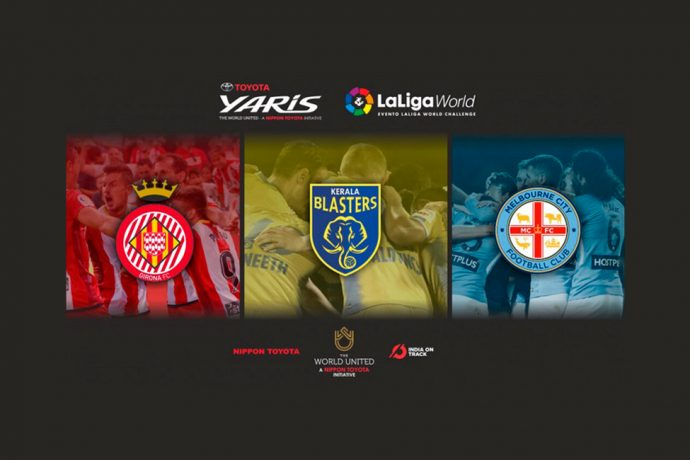 India's first international football pre-season tournament, Toyota Yaris LaLiga World, will be held in Kochi with Kerala Blasters FC, Melbourne City FC and Girona FC. (Image courtesy: LaLiga)