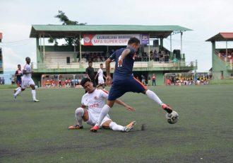 Chanmari FC defeat Aizawl FC to seal a place in the Lalbiakliana Memorial MFA Super Cup 2018 final. (Photo courtesy: Mizoram Football Association)